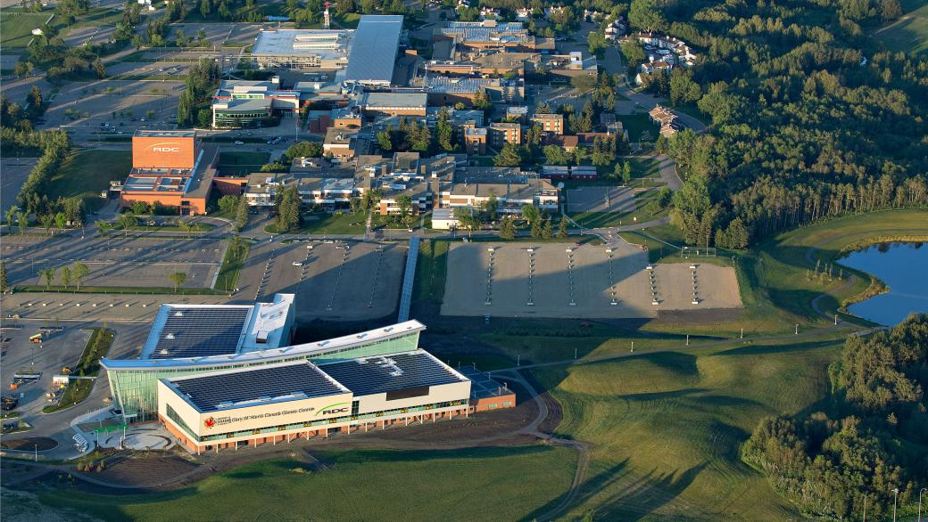Red Deer College's main campus
